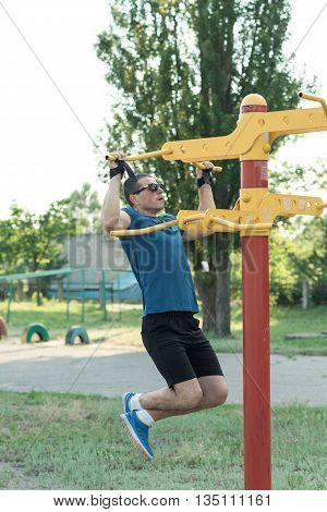 Strong Young Athlete