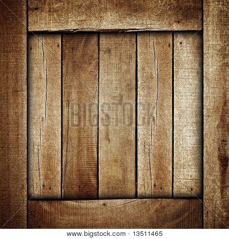 Holzkiste-Hintergrund