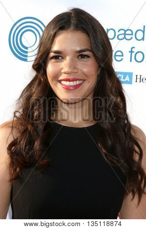 LOS ANGELES - JUN 18: America Ferrera at the Stand For Kids Gala at the Twentieth Century Fox Studios Lot on  ,  June 18, 2016 in Century City, CA