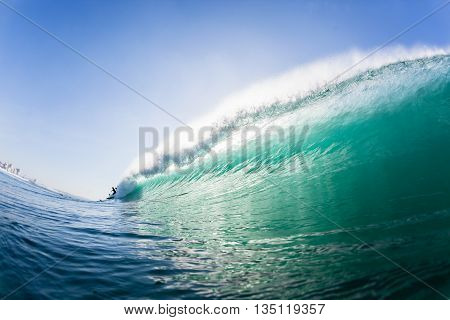 Wave Swimming