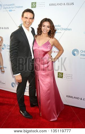LOS ANGELES - JUN 18: Christopher Gorham, Ariel Lopez at the Stand For Kids Gala at the Twentieth Century Fox Studios Lot on  ,  June 18, 2016 in Century City, CA