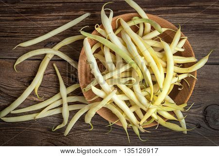 Yellow Kidney Beans In A Bowl.