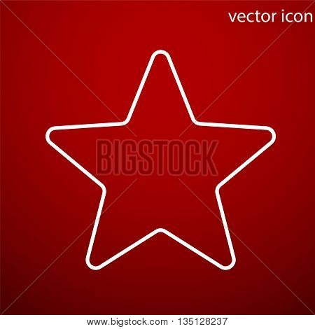 Star icon vector and jpg. Flat style object. Art picture drawing. Eps 10. Web icons.