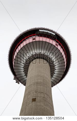 Close-up Of Calgary Tower