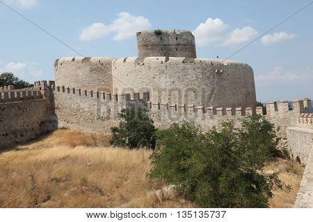 Old ottoman Kilitbahir Castle in Gallipoli Peninsula,Canakkale,Turkey