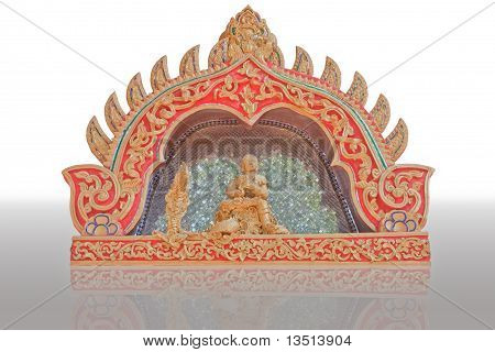 The judge stucco thai art style