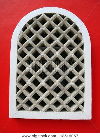 Red Window in Mexico