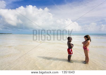 Ruined Vacation - Diversity On The Beach.