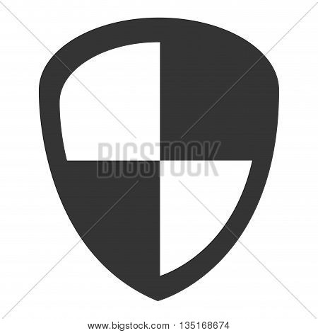 black infographic sign with white squares over isolated background