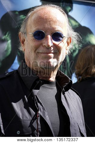 Avid Arad at the Los Angeles premiere of 'The Incredible Hulk' held at the Universal CityWalk in Hollywood, USA on June 8, 2008.