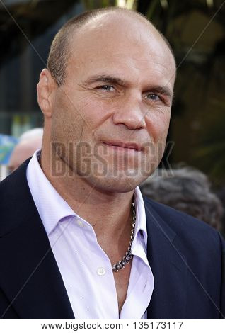 Randy Couture at the Los Angeles premiere of 'The Mummy: Tomb Of The Dragon Emperor' held at the Gibson Amphitheatre in Hollywood, USA on July 27, 2008.