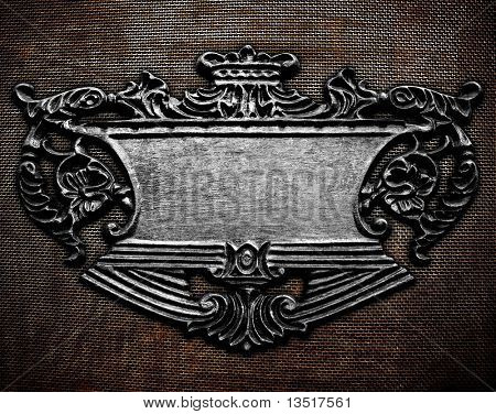 Fondo de tabletas de hierro