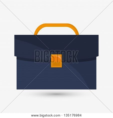 suitcase concept with icon design, vector illustration 10 eps graphic.