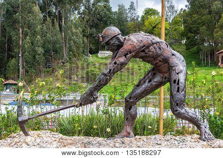 Salt Miner Statue
