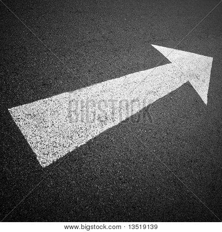 hacia adelante en el camino