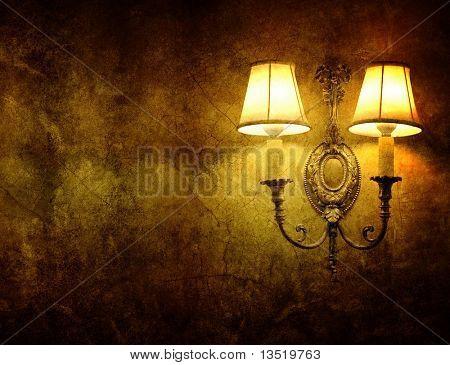 Lámpara de pared Vintage