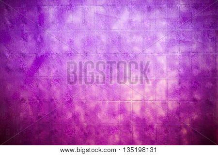 Purple Or Magenta Background With Vignette Grunge Texture