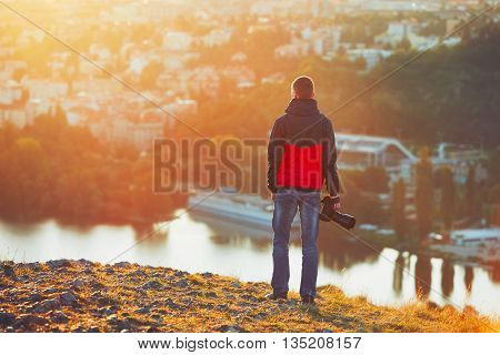 Photographer At The Sunrise