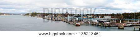 Seaport On Island