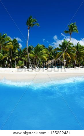 sea beach. Vacation and Tourism concept.