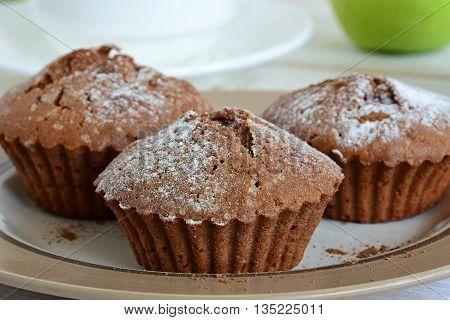 Muffins With Cocoa