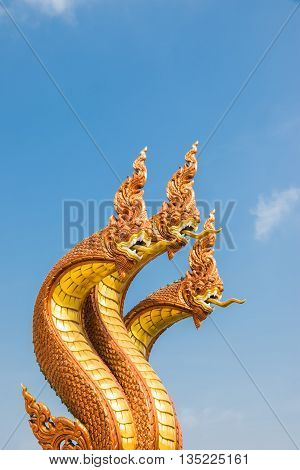 Three Head Of Naga