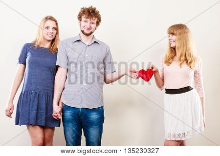 Happy Triangle Relationship