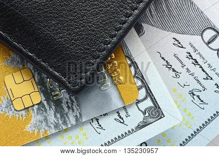 Credit Cards Close-up