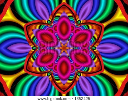 Psychedelic Flower Power