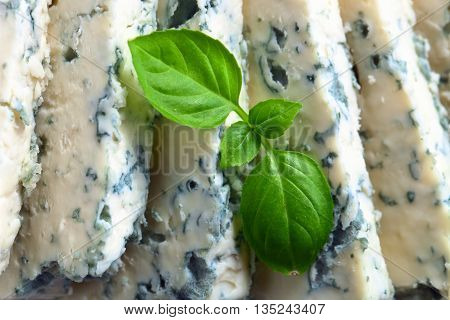 Gorgonzola Cheese With Basi