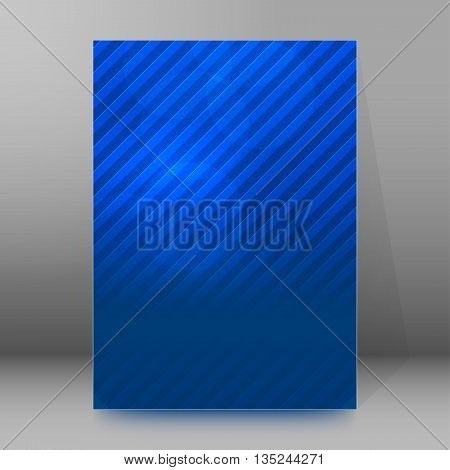Brochure Cover Template Vertical Format Glowing Background27