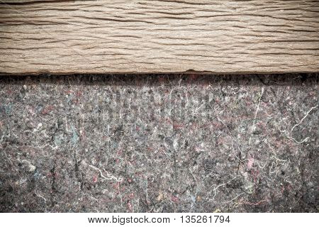 Wood Background Texture and rugs. Abstract background empty template