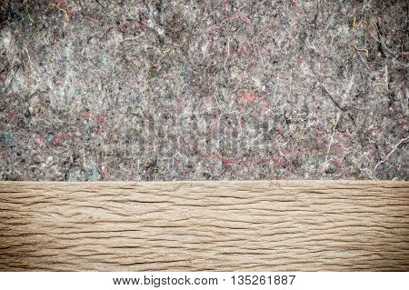 Wood Background Texture and rugs. Abstract background empty template.