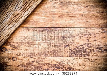 Brown wood texture. Abstract background empty template