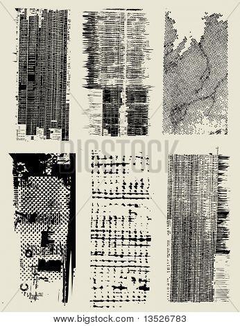 Combinación de una variedad de textura