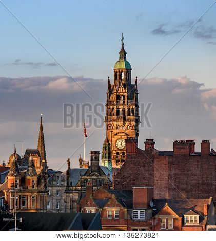Sheffield Town Hall is a building in the City of Sheffield England and is used by Sheffield City Council