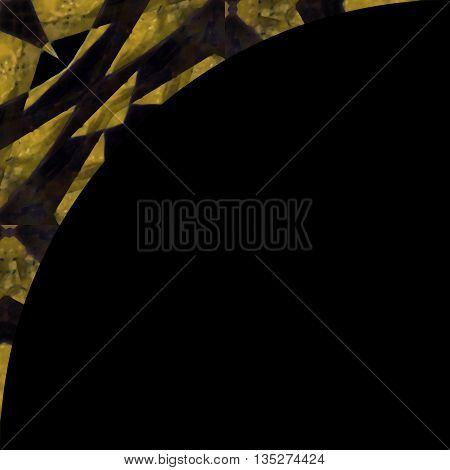 Background With Geometric Design Borders