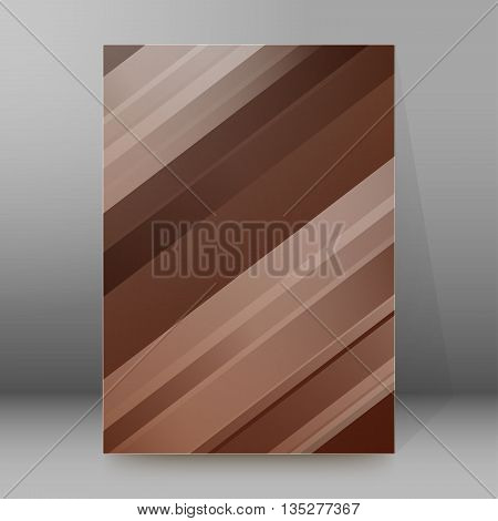 Brochure Cover Template Vertical Format Glowing Background44