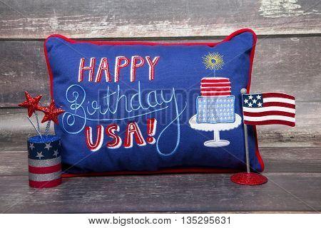 A patriotic still life for America's birthday
