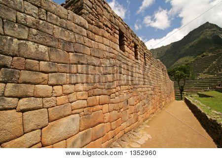 Stock photo : Machu Picchu Wall
