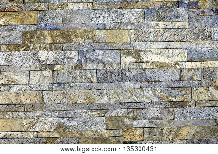 Stone Veneer Blue White Granite
