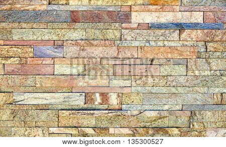 Mineralized Copper Gold Granite Stone Veneer