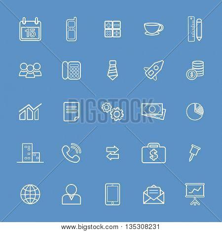 Vector UI Illustration Business Finance Concept