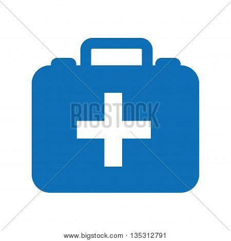 kit medical  isolated icon design, vector illustration  graphic