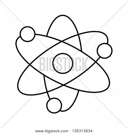 Science concept represented by science icon over flat and isolated background