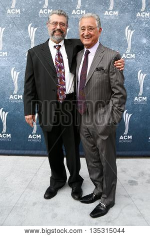 NASHVILLE, TN-SEP 1: Del Bryant (L) and Dane Bryant attend the 9th Annual ACM Honors at the Ryman Auditorium on September 1, 2015 in Nashville, Tennessee.
