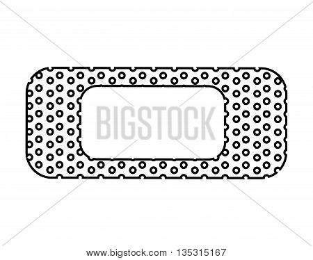 medical bands  isolated icon design, vector illustration  graphic