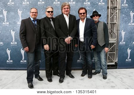 NASHVILLE, TN-SEP 1: Restless Heart attends the 9th Annual ACM Honors at the Ryman Auditorium on September 1, 2015 in Nashville, Tennessee.