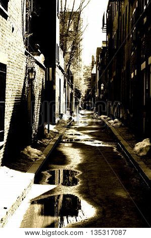 The Forgotten Alley's Of Boston's Lower Streets