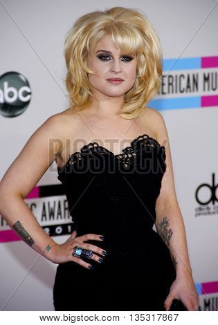 Kelly Osbourne at the 2010 American Music Awards held at the Nokia Theatre L.A. Live in Los Angeles, USA on November 21, 2010.